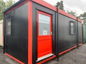 24ft Office Site Cabin, Reception, Trade Counter, Gate House, Staffroom, Drying