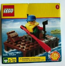 LEGO Shell Promotional Set #3 River Raft Set 2537 NEW IN BOX