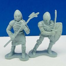 DRAGONRIDERS STYX MINIATURE PLASTIC ACTION TOY SOLDIER FIGURES LOT DFC GRAY VTG