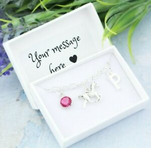 Horse Bracelet, Personalised Jewellery, Horse Riding Gifts, Pony Gift For Girls