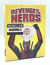 Revenge of the Nerds (Blu-ray Disc, 2018) NEW w/ Deadpool Photobomb Slipcover