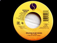DEPECHE MODE~WALKING IN MY SHOES~UNPLAYED STORE STOCK~MY JOY~SIRE~~ POP 45