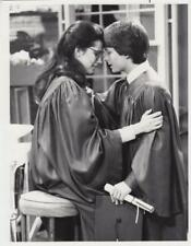 """Michael J. Fox, Daphne Zuniga in """"Family Ties"""" 2/29/84- Original TV Still"""