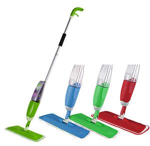 HoGa House Spray Mop Sprühmop Bodenwischer Wischmop Set HF127