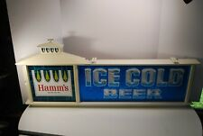 """Hamm's Beer Sign Theo Hamm Brewing """"Ice Cold Beer"""" Excellent Condition"""