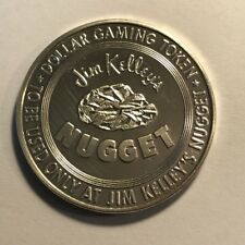 GAMING TOKEN - Jim Kelley's Nugget - One Dollar 1965 - Franklin Mint - FREE S&H