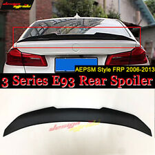 For BMW E93 2-DR Convertible High Kick FRP Trunk Spoiler Wing PSM Style 06-13