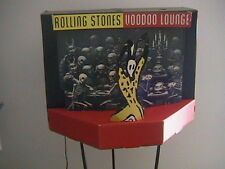 "ROLLING STONES PROMO LIGHTED 3D ""VOODOO LOUNGE"" CARDBOARD MOBILE RARE"