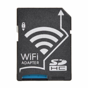 WIFI Adapter Wireless Memory Card TF to SD SDHC SDXC Card Kit for Camera Photos