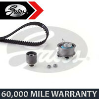 FOR VW GOLF V 1.9 2.0 DIESEL (2007-2009) GATES TIMING CAM BELT KIT TENSIONER