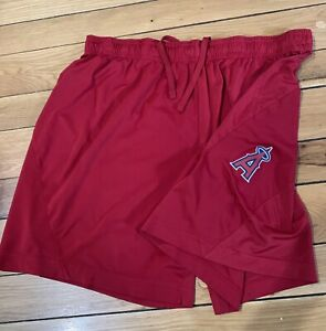 Men's Nike Los Angeles Angels Dri Fit Team Issue Training Shorts Size X-Large