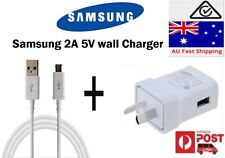 Genuine Samsung Ac wall charger USB Cable for Galaxy S3 S4 S6, Note 2