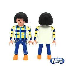 playmobil Country City Life Figura: Donna in Blue Jeans e Camicetta Camicia