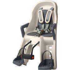 POLISPORT Kindersitz vorne Guppy Mini Befestig. Steuerrohr cream/grau, Fahrrad