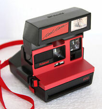 Polaroid Coolcam 600 rouge vintage red instant film camera