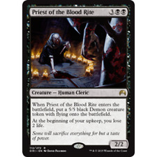 * Foil * MTG Priest of the Blood Rite NM - Origins