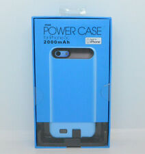 New 2000 mAh Blue Power Case For iPhone 5C