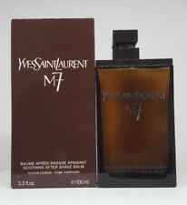 YVES SAINT LAURENT YSL M7 SOOTHING AFTER SHAVE BALM 100ML UNSEALED BOX GENUINE
