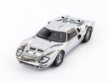 1:18 1966 Ford GT40 Chrome Edition Diecast