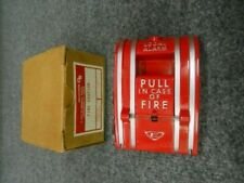 New In Box/New Old Stock Fire Alarm Pull Station With Box