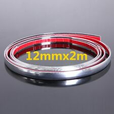 12mm 2m Car Auto Moulding  Trim Self Adhesive Crash Guard Protector