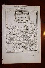 ✒ 1683 MANESSON MALLET Cercle d AUTRICHE Allemagne SAINT EMPIRE ROMAIN