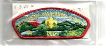 ALLEGHENY HIGHLANDS -CSP MINT Vintage PA Boy Scout Mgd Council Patch- Plain Back