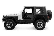 97-06 Jeep Wrangler Replacement Soft Top with Clear Windows in Black Diamond