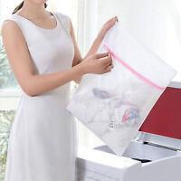 Wäschebeutel Wäschesack Wäschenetz Wasch Netz für Waschmaschine und Trock 2 Y0E4
