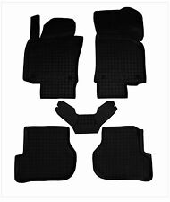 Rubber Car Floor Mats All Weather Alfombras Goma fit SKODA OCTAVIA A5 2004-12