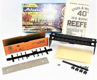Athearn HO Scale Sante Fe Chief 1605 Refrigerator Car Trains In Miniature New #2