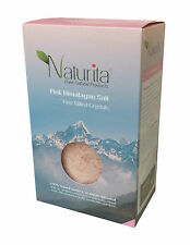 NATURITA PINK HIMALAYAN SALT FINE MILLED CRYSTALS 1000g -NO ADDITIVES, UNREFINED