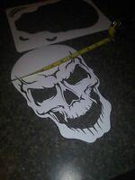 "SKULLS SKULLS SKULL /""You pick design/"" Airbrush Stencil 1 Layer .....11 different"