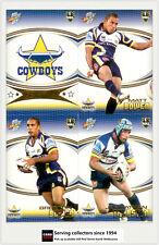 2007 Select NRL Invincible Trading Cards Base Team Set Cowboys (12)