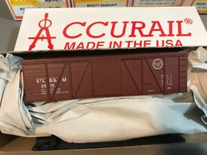 Accurail 1181 St. Louis Brownsville & Mexico MoPac 36' Fowler Wood Boxcar - New!