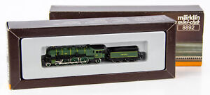 Vintage Marklin Mini-Club 8892 Z Scale Steam Locomotive K.Bay Sts.B 3673w/Tender