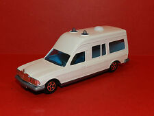Norev models Mercedes Ambulance repainted for us in white ,Boxed