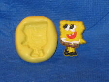 SpongeBob Square Pants Silicone Mold #517 Acrylic Topper Resin Candy Cupcake
