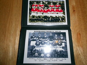 MANCHESTER UNITED FOOTBALL CLUB Photo Album (1950's - BUSBY BABES)