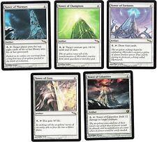 5 Card Rare Tower Set - Mirrodin/SOM - Magic the Gathering MTG FTG