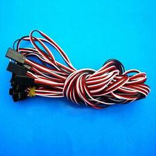 10 x100cm Servo Extension Lead Wire Cable 3 Pin Male to Female for Futaba
