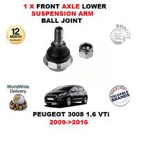 pour Peugeot 3008 1.6 VTI 2009-2016 1x ESSIEU AVANT INFÉRIEUR Bras Suspension
