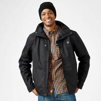 Timberland Men's MT. Crescent Fleece Lined Waterproof Black Jacket A1COT