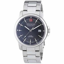 Swiss Military Stainless Steel Case Analogue Wristwatches