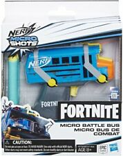 5010993606849 Blaster NERF Microshots Fortnite Battle Bus Hasbro