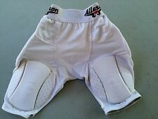 Alleson Padded 5-Pad Football Girdle Shorts, Size Youth Small