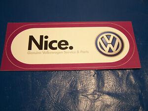 VW Dub Crown-Volkswagen Beetle//T4//T5//T6//Golf Decal Autocollant Vinyle de haute qualité