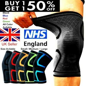 Knee Support Brace Compression Sleeve Arthritis For Running Gym Sports Bandage