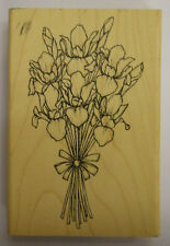 Sello de goma Ramo de Iris-madera montado JK 2867 H
