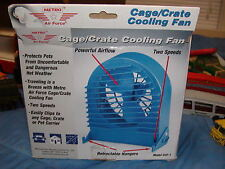 New listing Metro Air Force Cage/Crate Cooling Fan In Box